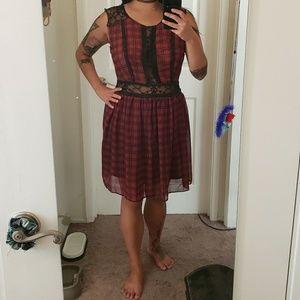 Tripp NYC plaid dress